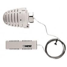 HERZ DESIGN termostatická hlavica M28x1,5, 6-30°C, s diaľkovým snímačom, biela