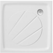 RAVAK PERSEUS PRO 100 sprchová vanička 1000x1000mm z liateho mramoru, extra plochá, štvorcová, biela XA03AA01010