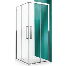 ROLTECHNIK EXCLUSIVE LINE ECS2P/900 sprchové dvere 900x2050mm pravé, dvojdielne posuvné, brillant/transparent