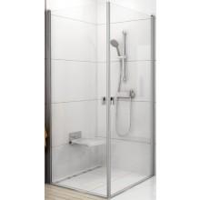 RAVAK CHROME CRV1 100 sprchovací kút 980x1000x1950mm rohový bright alu / transparent 1QVA0C01Z1