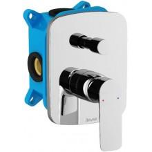 RAVAK CLASSIC CL 065.00 vaňová/sprchová podomietková pákovová batéria 143x136x209mm, s prepínačom, pre R-box