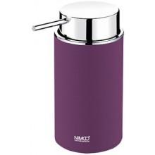 NIMCO PURE dávkovač na tekuté mýdlo 72x106x152mm fialová/chrom PU 7031-50