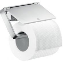 AXOR UNIVERSAL držiak na toaletný papier 135mm, s krytom, chróm