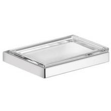 KEUCO EDITION 11 držiak s mydlovničkou 120x105x21mm, s odnímateľnou sklenenou miskou, chróm/krištáľové sklo