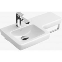 VILLEROY & BOCH SUBWAY 2.0 umývadlo 630x355mm, bez prepadu, Biela Alpin CeramicPlus