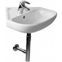 DEEP BY JIKA umývadlo 550x560x190mm, rohové, s otvorom, biela