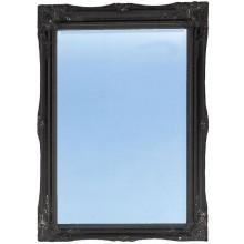 HERITAGE BALHAM zrkadlo 660x910mm onyx black/sklo/drevo
