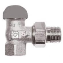 """HERZ TS-90-E termostatický ventil 1/2"""" rohový, pre jednorúrkové sústavy"""