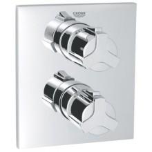 GROHE ALLURE termostatická sprchová batéria 197x171mm podomietková  chróm 19380000