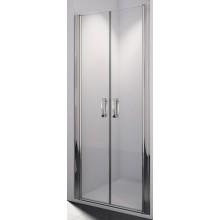 SANSWISS SWING LINE SL2 sprchové dvere 1200x1950mm dvojkrídlové, aluchrom/číre sklo