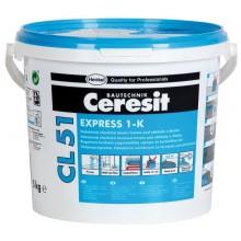 CERESIT CL 51 EXPRESS 1-K jednozložková hydroizolácia 5kg, elastická šedá