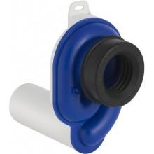 GEBERIT zápachová uzávierka 50mm, pre pisoár, vodorovný odpad, alpská biela