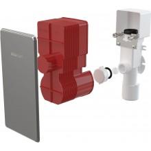 CONCEPT sifón 50/40mm, pre odkvapkávajúci kondenzát, podomietkový, nerez