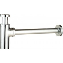 EASY ZAMBEZI ZAS110 umývadlový sifón DN32, dizajnový, mosadz, chróm