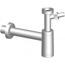 SLOVARM sifón umývadlový, DN40, s prípojkou, PP, biela