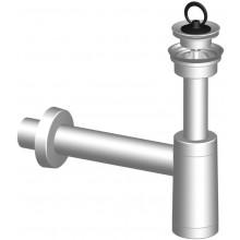 SLOVARM sifón umývadlový, DN40, prietok 0,65 l/s, PP, biela