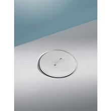 HÜPPE EASY STEP sifón 53mm s okrúhlou krytkou, biela