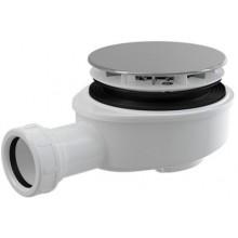 ROTH sifón DN90 vaničkový, znížený, chrómový plast