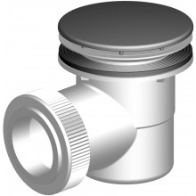 SLOVARM sifón DN50/40 vaničkový, PP, bílá