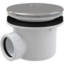 CONCEPT vaničkový sifón, pochrómované kovové veko s úpravou LUX, chróm
