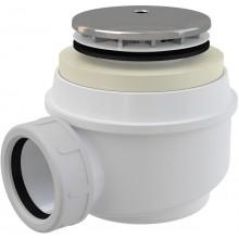 CONCEPT znížená vaničková odtoková súprava pr.50mm, chróm