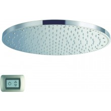 CRISTINA SANDWICH COLOURS sprcha hlavová s osvetlením, antikalk-system, priemer 40cm chróm