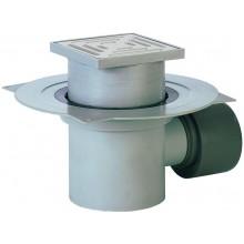 HL podlahová vpusť DN75/110, s vodorovným odtokom, polypropylén