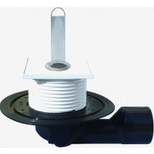 HL podlahová vpusť DN50/75 s variabilným odtokom, polypropylén/polyetylén