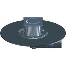 HL vpusť DN50/75 podlahová, s horizontálnym odtokom, polyetylén/nerez