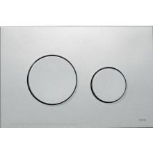 TECE LOOP ovládacie tlačidlo 216x145mm, dvojmnožstevné splachovanie, matný chróm