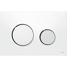 TECE LOOP ovládacie tlačidlo 216x145mm, dvojmnožstevné splachovanie, biela/chróm