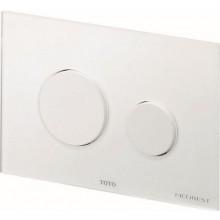 TOTO NEOREST/SE ovládacie tlačidlo 220x150mm, sklo/biela