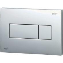 EASY EAT2.001 ovládacie tlačidlo 247x165mm, pre predstenové inštalačné systémy, plast, chróm/lesk