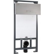 AZP BRNO BSAZ 5 predstenový systém 510x1210mm sa splachovačom, bezpečnostny, nerez