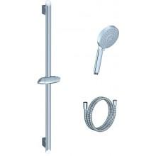 RAVAK 902.00 sprchový set hadica 150cm, tyč 700mm, ružica plochá, chróm