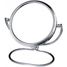 NIMCO kozmetické zrkadlo 190x200mm stojankové, chróm