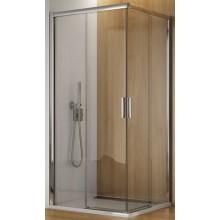 SANSWISS TOP LINE TBFG sprchové dvere 900x1900mm, ľavé, dvojdielne posuvné, aluchróm/číre sklo