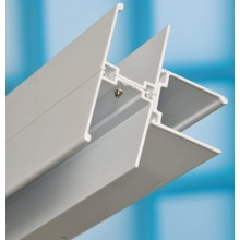 RAVAK spojovací T profil 1850mm, k sprchovacím kútom, biela