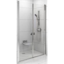 RAVAK CHROME CSDL2 100 sprchové dvere 975x1005x1950mm dvojdielne satin / transparent 0QVACU0LZ1