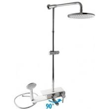 EASY sprchový set vaňová batéria, hlavová sprcha 23cm, ručná sprcha, chróm