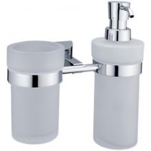 NIMCO PALLAS ATHÉNA dávkovač na tekuté mydlo s pohárom 190x190x112mm chróm PA 1205831W-26