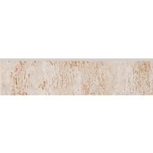 RAKO TRAVERTIN sokel 30x7,2cm, béžová