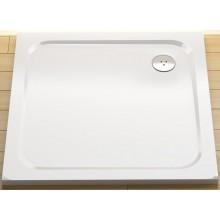 RAVAK PERSEUS PRO CHROME 90 sprchová vanička 900x900mm z liateho mramoru, plochá, štvorcová, biela XA047701010