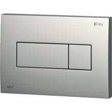 EASY ovládacie tlačidlo 247x165mm pre predstenové inštalačné systémy, chróm/mat