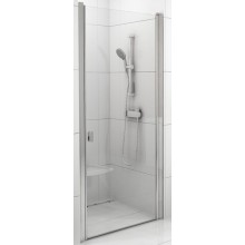 RAVAK CHROME CSD1 90 sprchové dvere 875x905x1950mm jednodielne biela / transparent 0QV70100Z1