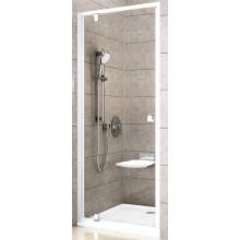 RAVAK PIVOT PDOP1 90 sprchové dvere 861x911x1900mm jednodielne, otočné, satin / transparent 03G70U00Z1