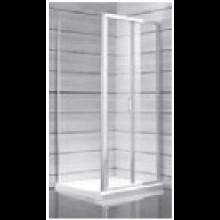 JIKA LYRA PLUS sprchové dvere pravoľavé skladacie 900x1900mm, stripy 2.5538.2.000.665.1