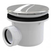 ROLTECHNIK vaničkový sifón Ø90mm, kov lux