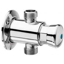 SILFRA pisoárový ventil 90x64mm, tlačný, nástenné, chróm