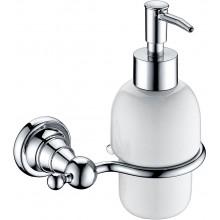 HERITAGE HOLBORN dávkovač mydla 178mm s držiakom, nástenný, sklo/chróm